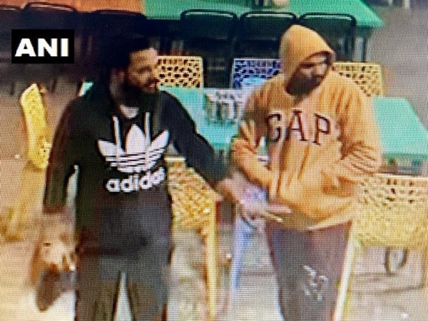 The man in the black shirt fled away with two INSAS assault rifles belonging to the sentries guarding the (AEC) Training Centre in Pachmari on Friday. (Photo/ANI)