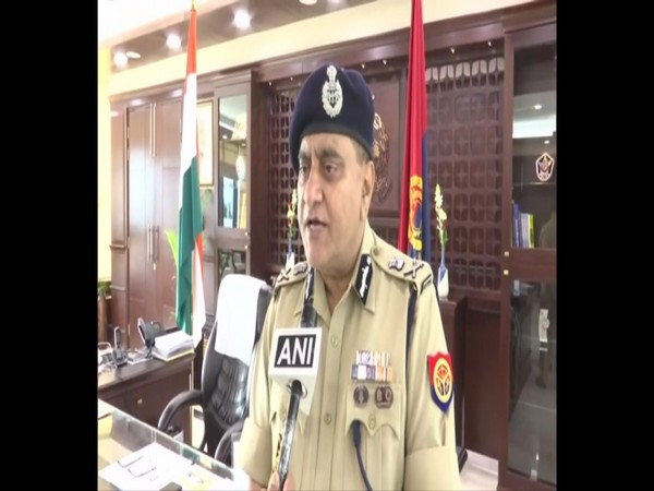 UP DGP OP Singh. File photo/ANI