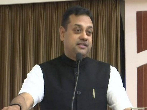 BJP national spokesperson Sambit Patra speaking at a civil society interaction in Panaji on Wednesday. Photo/ANI