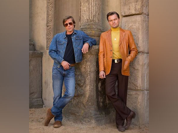 Brad Pitt and Leonardo DiCaprio from 'Once Upon A Time in Hollywood' (Image courtesy: Instagram)