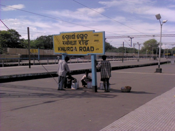 Railway stations with limited people as train cancelled due to coronavirus lockdown