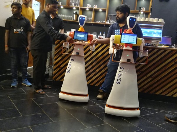 Robo Chef, a first of its kind restaurant in Bhubaneswar, has robots to serve food to the customers.