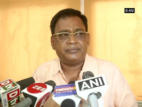 Odisha Health Minister Naba Kishore Das speaking to reporters in Bhubaneswar on Wednesday. Photo/ANI