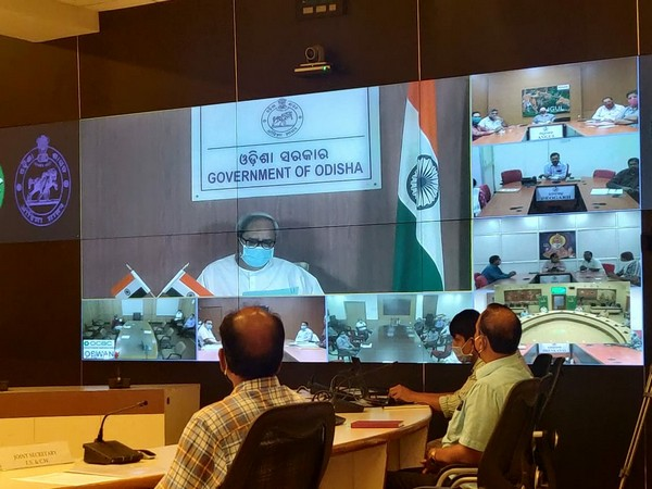 Odisha Chief Minister Naveen Patnaik at the launch of online Service of Food Supply and Consumer Welfare Department on Thursday. Photo/ANI