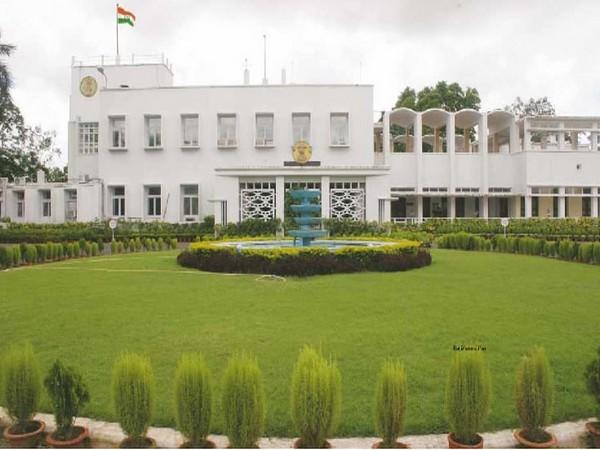 The Raj Bhavan at Bhubaneswar