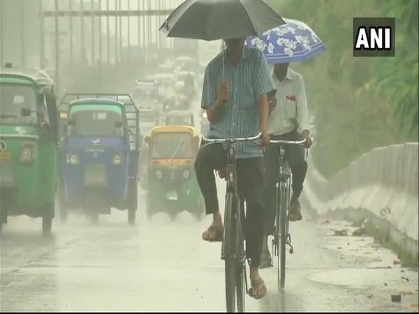 Rain visual from Odisha
