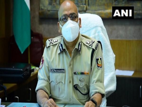 Police Commissioner of Bhubaneswar, Soumendra Priyadarshi (Photo/ANI)