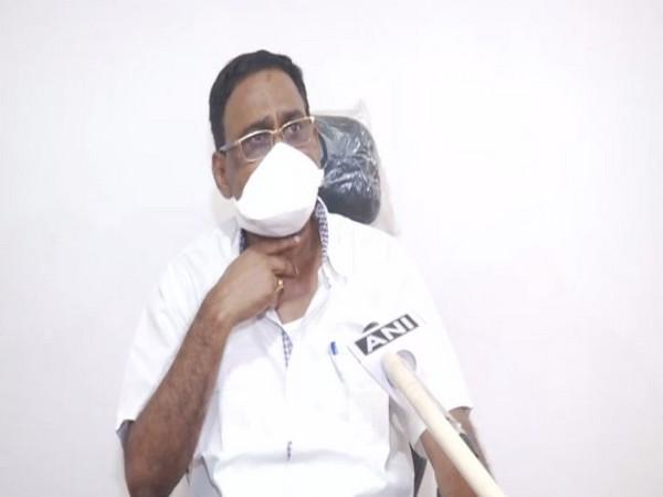 Odisha Health Minister Naba Das speaking to ANI on Monday. Photo/ANI