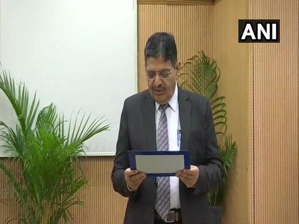 Dr Pradeep Kumar Joshi takes oath as UPSC chairman on Friday. Photo/ANI