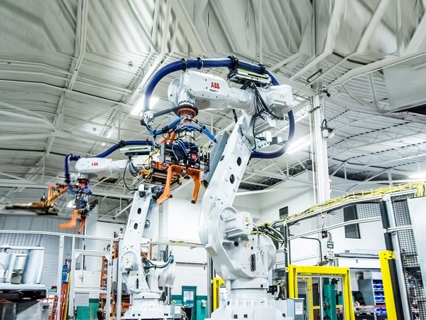 The mega-factory will be the country's most automated with 5,000 robots and automated guided vehicles