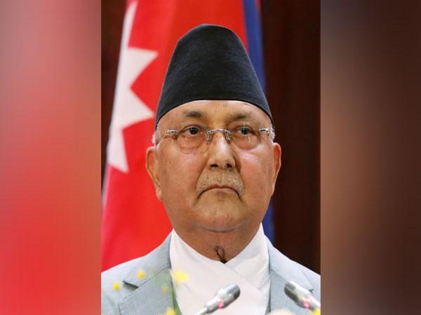 Nepali caretaker Prime Minister KP Sharma Oli.