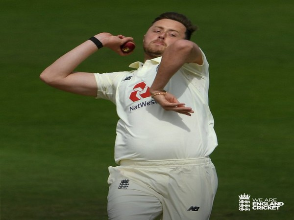 England pacer Ollie Robinson (Photo/ England Cricket Twitter)