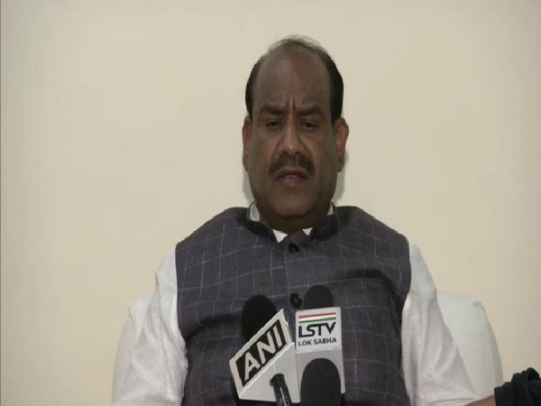 Lok Sabha Speaker, Om Birla. Photo/ANI