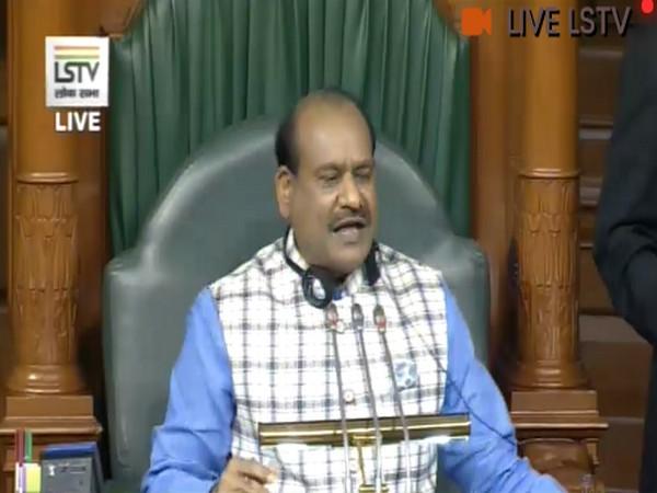 Lok Sabha Speaker Om Birla [Pic courtesy- LS TV]