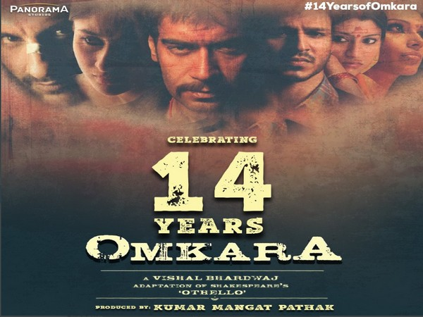 'Omkara' completes 14 years of its release on Tuesday (Image source: Twitter)
