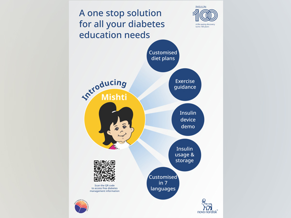 Novo Nordisk Education Foundation introduces Mishti, a one stop solution for diabetes education
