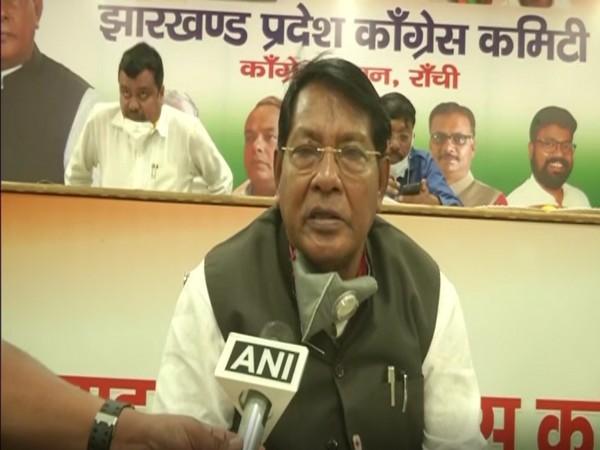 Jharkhand Finance Minister Dr Rameshwar Oraon (File Photo/ANI)