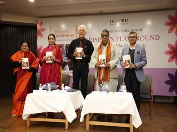 Oxford University Press launches 'Krishna's Playground: Vrindavan in the 21st Century'