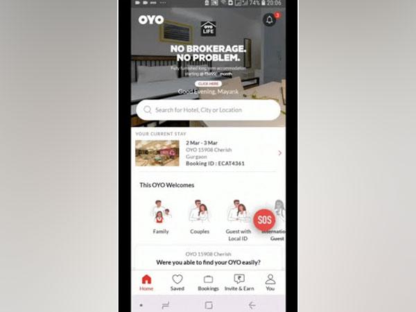 OYO - in-app SOS Button