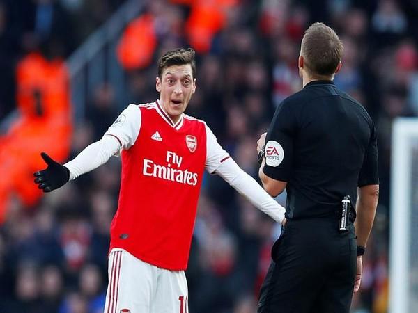 Arsenal striker Mesut Ozil