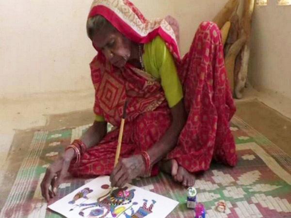 Jodhaiya Bai Baiga, an 80-year-old tribal woman. Photo/ANI