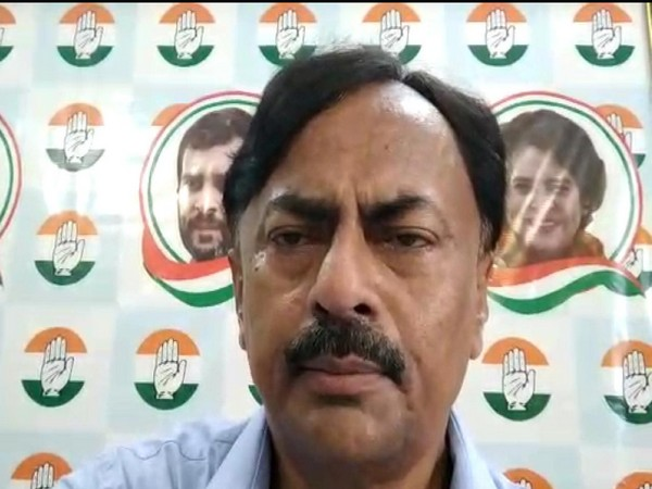 Bihar Congress MLC Prem Chandra Mishra in a video message on Tuesday. Photo/ANI