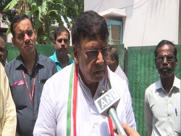 Madhya Pradesh Legal Affairs and Public Relations Minister PC Sharma while speaking to ANI in Bhopal, Madhya Pradesh. Photo/ANI
