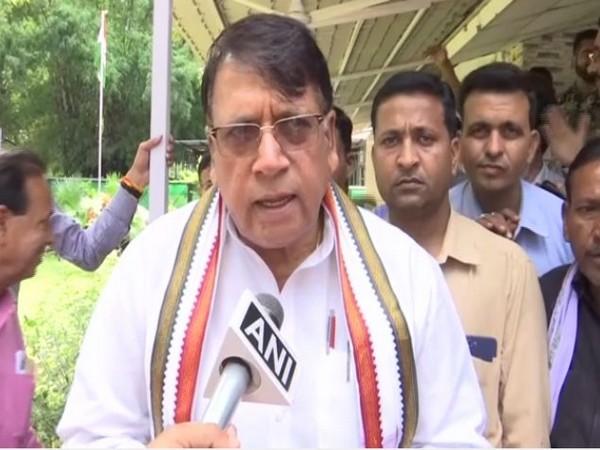 Madhya Pradesh Law Minister PC Sharma. (File Photo/ANI)