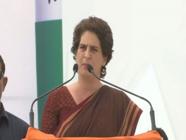 Congress leader Priyanka Gandhi Vadra. File photo/ANI