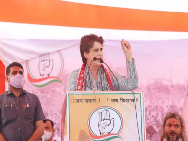 Congress Party General Secretary Priyanka Gandhi Vadra (Photo/Twitter)