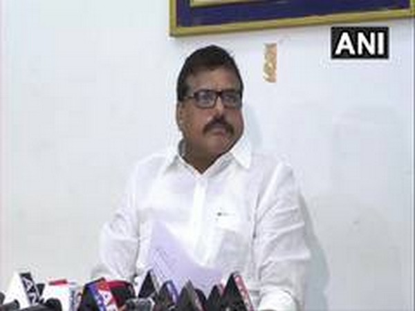 Andhra Pradesh Municipal Administration and Urban Development Minister Botcha Satyanarayana (Photo/ANI)