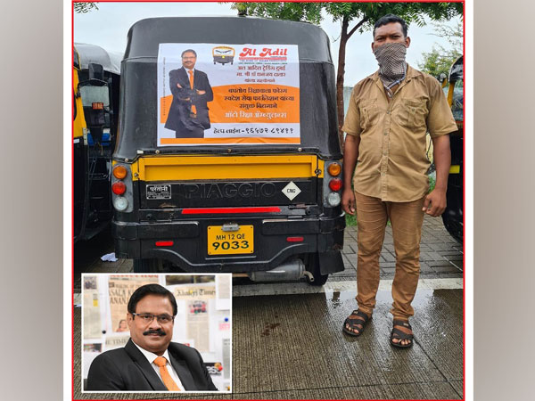 Masala King Dr Dhananjay Datar Sponsors a Novel Initiative Rickshaw Ambulance for COVID Patients in need of Oxygen