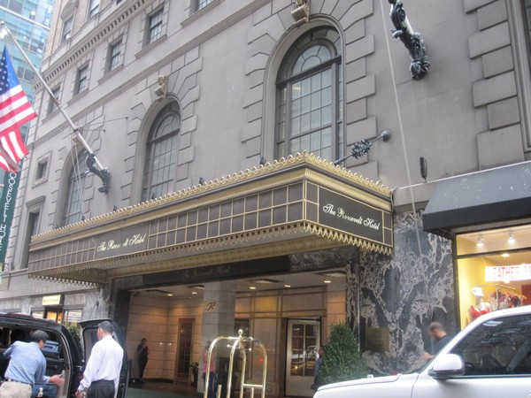 Roosevelt hotel in New York (File photo)