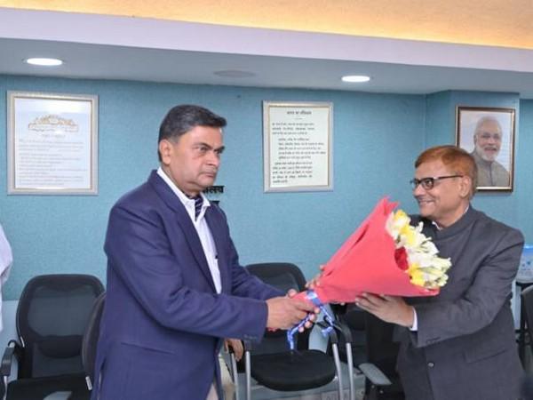 Pravas Kumar Singh takes oath as CERC member (Photo/PIB)