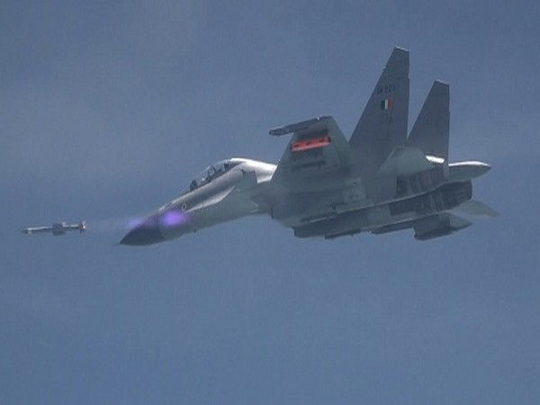 IAF and DRDO successfully flight tested Astra missile. (Picture courtesy: MoD)