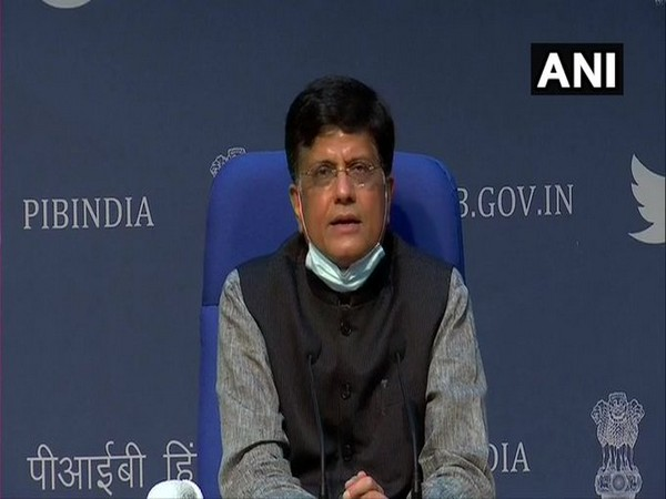 Minister of Railways and Commerce and industry Piyush Goyal (File Photo/ANI)
