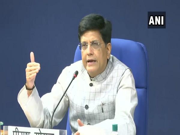 Union Minister of Commerce & Industry Piyush Goyal. (Photo/ANI)