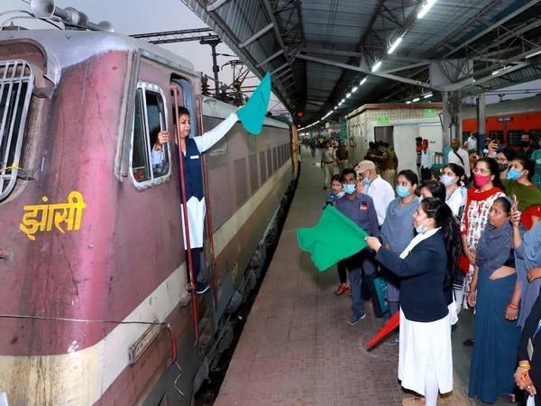 Bundelkhand Special train between Jhansi and Gwalior (Piyush Goyal/Twitter)