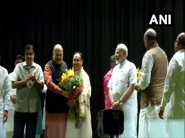 Prime Minister Narendra Modi, Home Minister Amit Shah among other leaders at BJP Parliamentary Party meeting in New Delhi on Tuesday.