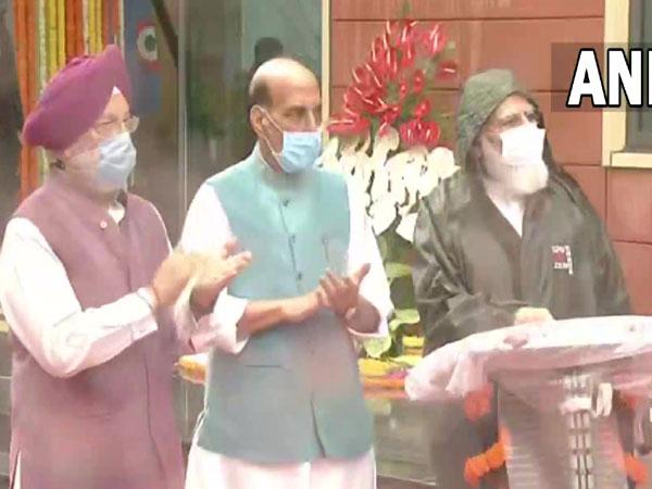 Prime Minister Narendra Modi inaugurating Defence Offices Complexes in New Delhi. (Photo/ ANI)