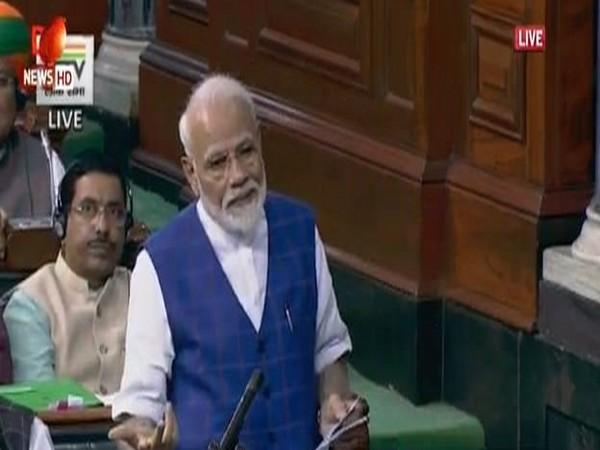 Prime Minister Narendra Modi (Image Courtesy Lok Sabha TV)