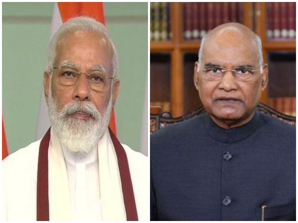 PM Narendra Modi (left), President Ram Nath Kovind (right)