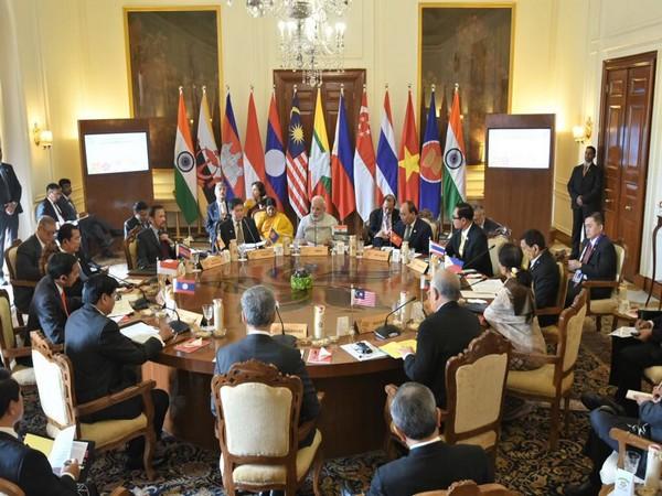 Prime Minister Narendra Modi speaking at India-ASEAN Commemorative Summit in January 2018 (File photo)