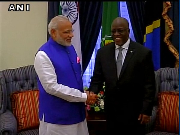 Prime Minister Narendra Modi had a phone call today with Dr John Pombe Joseph Magufuli, President of Tanzania (File photo)