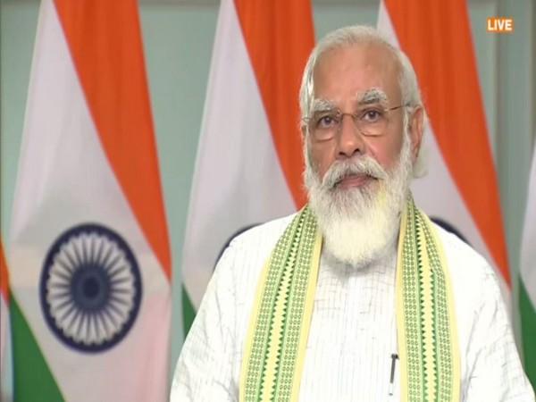 Prime Minister Narendra Modi. [Photo/ANI]