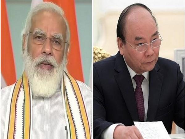 Prime Minister Narendra Modi and Prime Minister of Vietnam Nguyen Xuan Phuc