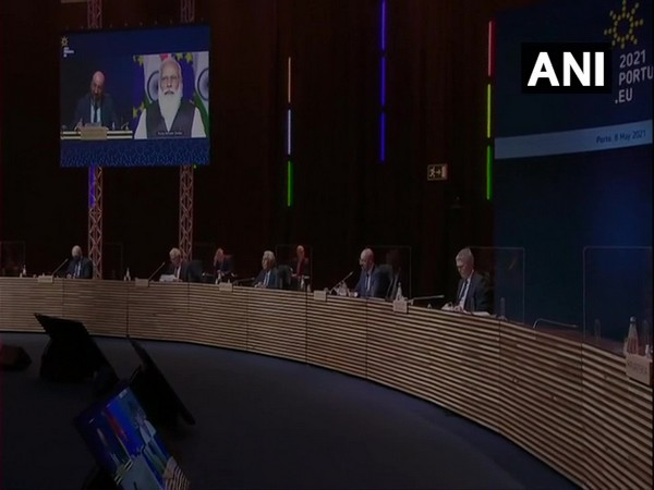PM Modi virtually participates in meeting of European Council (ANI)