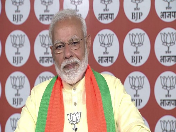 Prime Minister Narendra Modi addressing people of Varanasi in a video message