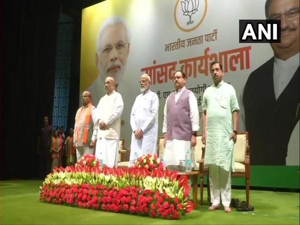 Prime Minister Narendra Modi at the two-day training programme 'Abhyas Varga'