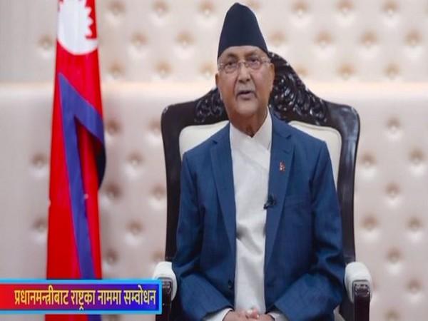 Nepal's Prime Minister KP Sharma Oli